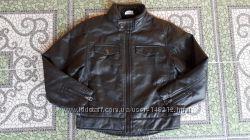 демисизонная куртка из качественной экокожи Yigga