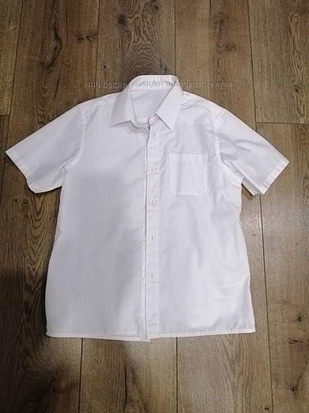рубашка в школу M&S 9лет