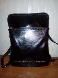 Стильный городской рюкзак-сумка формата А4