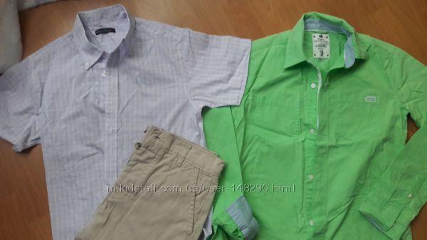 Стильные фирменные рубашки 152-158