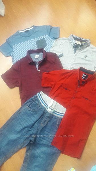 Фирменная рубашка мальчику 158-164