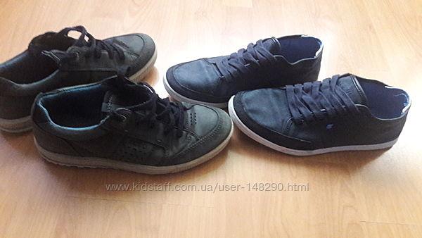 Фирменные туфли мокасины 40-41размер