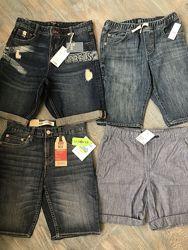 Фирменные джинсовые шорты  LEVIS, GAP, H&M, MANGO.