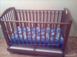 Кроватка детская. Baby expert. Италия. Натуральные материалы.