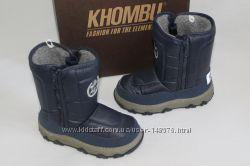 Зимние сапоги фирма KHOMBU, амер. 11, евпоп. 29-30, по стельке-19 см