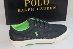 Красивейшие кеды фирма Polo Ralph Lauren, европейский-37, стелька-24, см