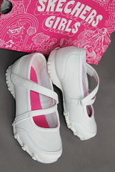 Кожаные туфельки фирма SKECHERS, амер.11,5, европ.28, по стельке-18,6 см