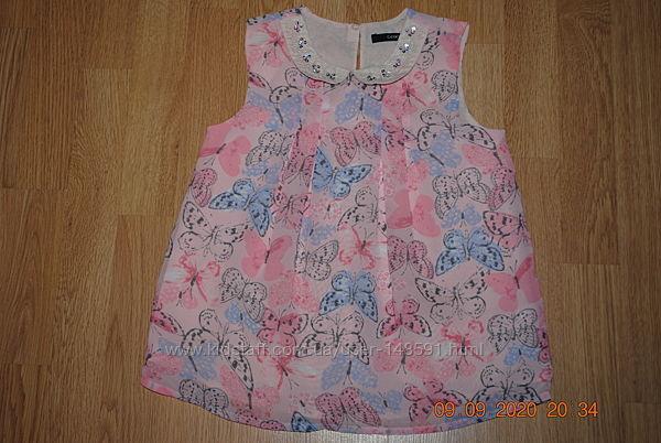Нарядная блузка на 7-8 лет