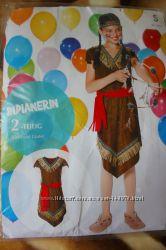 Карнавальное платье Индеанки на 4-6 лет