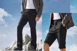 Мужские треккинговые, спортивные, штаны шорты Crivit Германия 50 52  eur