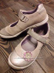 серебристые туфельки Stups, Италия