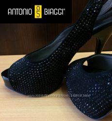 Туфли женские замшевые, стиль Glam фирмы Antonio Biaggi