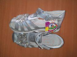 acbe3cf51 Босоножки для девочки Jong Golf серебристые, размер 31, 220 грн ...