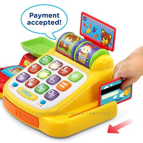 Интерактивный кассовый аппарат VTech Ring and Learn Cash Register