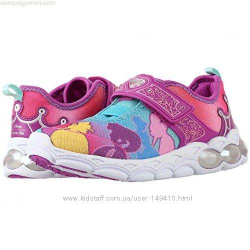 Светящиеся кроссовки Stride Rite Stride Rite Disney Princesses, размер 2, 5