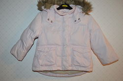 Зимняя куртка пуховик на девочку 1-2 года
