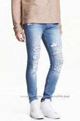 Скини джинсы H&M 29-34