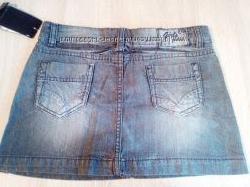 Юбка джинсовая C&A Германия 158размер