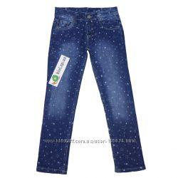 Клаccные джинсы шр424 Бемби - девоч - р. 122, 128, 134, 140 - Распродажа