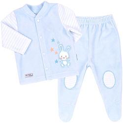 2 цвета - Велюровый костюм для малышей тм Бемби - р.56, 62