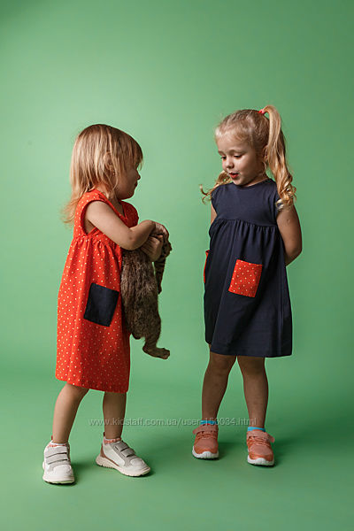 Акция - Платье стильное тм Бемби - 3 цвета- пл298, пл300- р.80-98