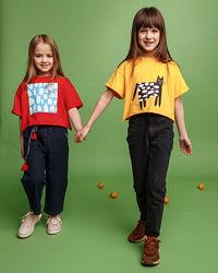 Акция - Модные футболки оверсайз 3 цвета тм Бемби фб782, фб785