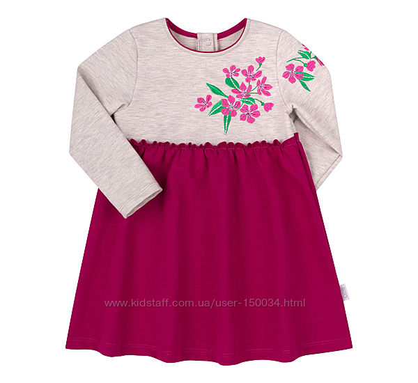 Платье тм Бемби 2 цвета пл265 - бесплат доставка - р.80-98
