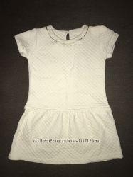 Платье 3-5лет ZARA зара белое