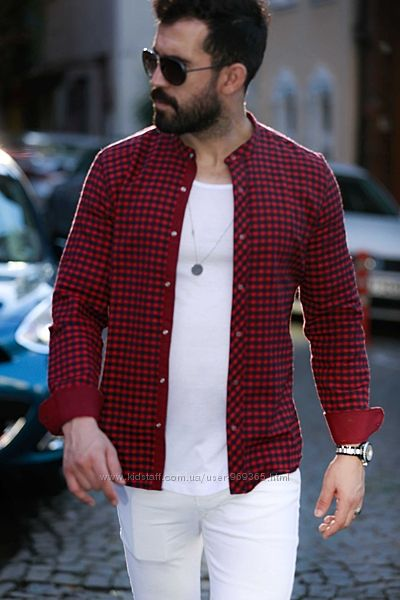 Утеплённые мужские рубашки ТМ Rubaska. Размеры S. M. XL. XXL