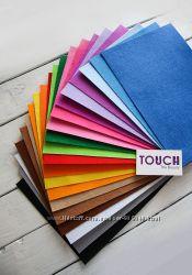 Фетр жесткий декоративный цветной 1мм 200гм2 для рукоделия