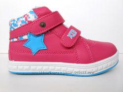 Акция-последний размер Моднячие демисезонные ботинки, кроссовки для девочек