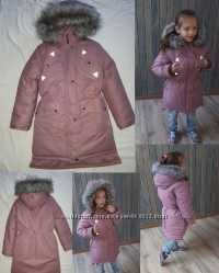 Зима 2020 Качественные и теплые куртки-парки-парки-пальто для девочек