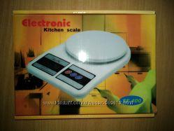 Весы кухонные электронные   БАТАРЕЙКИ  DOMOTEC  до 7 кг и до 10 кг