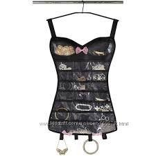 Платье, корсет - органайзер для украшений, бижутерии, мелочей