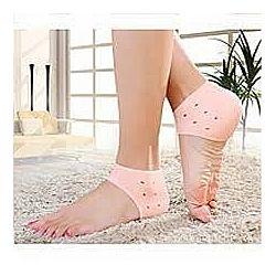 Напяточники, Силиконовые носки от трещин Защита пятки эффект увлажнения