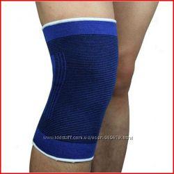 Наколенник эластичный , спортивный , бандаж, пара 2шт защита колена
