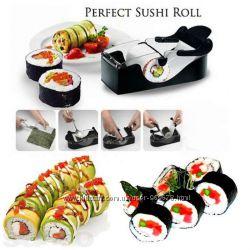 Машинка прибор, форма для приготовления ролл и суши Perfect Roll Sushi.