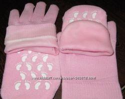 Увлажняющие гелевые носки носочки и перчатки