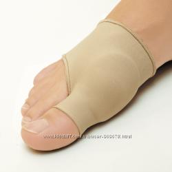 Гелевый протектор от косточки от шишки на ноге на тканевой основе манжетка