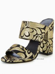 Мюли V By Very Icon Tapestry Two Strap Mules, 39р на 25см