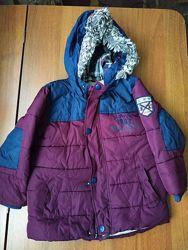 Еврозима куртка Next, 104 см, 3-4г