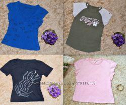 Пакет одежды - 3 футболки с короткими рукавами без хаки, размеры S, M