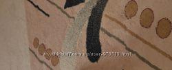 Толстый шерстяной ковёр 350х450 после химчистки