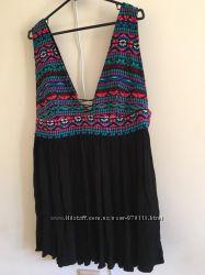 Платье-Туника с вышивкой в стиле этно Atmosphere, размер L