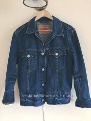 Мужская стильная джинсовая куртка Levis оригинал, размер М