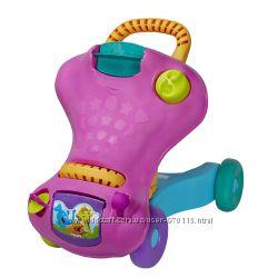 Ходунки-каталка, машинка 2в1 Hasbro Playskool со звуковыми эффектами