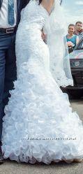 Свадебное платье Рыбка
