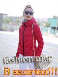 Модная теплая деми куртка С М