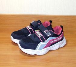 Кроссовки на девочку сине розовые Alemy Kids 31-36