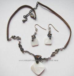 Ожерелье и серьги от AVON